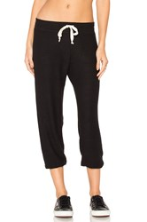 Nation Ltd. Hacci Capri Sweatpant Black