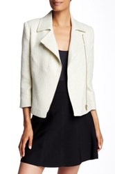 Ted Baker Noira Tweed Biker Jacket Multi