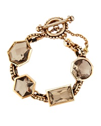 Stephen Dweck Smoky Quartz And Bronze Bracelet