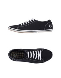 Fred Perry Low Tops And Trainers Dark Blue