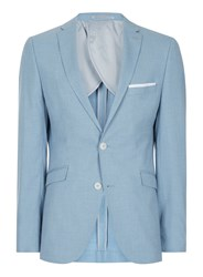 Selected Homme Light Blue Slim Fit Suit Jacket