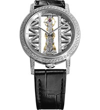 Corum Gg69g Golden Bridge 18Ct White Gold Sapphire