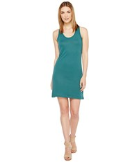 Alternative Apparel Effortless Tank Dress Coastal Teal Women's Dress Blue