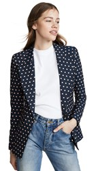 Smythe Lounge Blazer Navy Blush