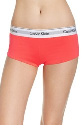 Calvin Klein Women's Modern Cotton Collection Boyshorts Bright Nectar