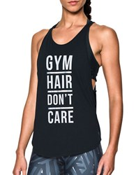 Under Armour Relaxed Fit Printed Tank Top Black