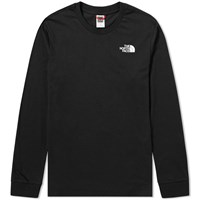The North Face Long Sleeve Simple Dome Tee Black