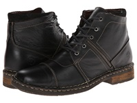 Lobo Solo Fred Black Leather Men's Lace Up Boots