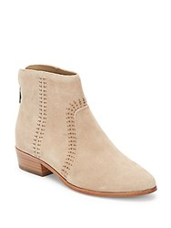 Joie Lucy Embellished Suede Booties Cement