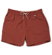 Loro Piana Mid Length Swim Shorts Red