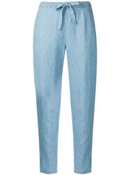 Bellerose High Waisted Trousers Blue