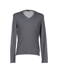 Allegri Knitwear Jumpers Men Grey