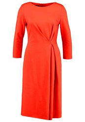 Escada Dassiva Jersey Dress Orange