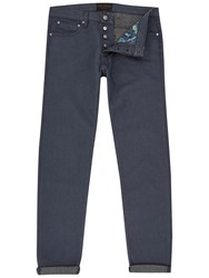 Ted Baker Slippa Straight Fit Jeans Grey