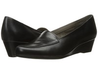 Aerosoles Lovely Black Leather Women's Flat Shoes