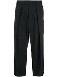 Odeur Front Pleated Cropped Tailored Trousers 60