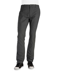 Original Penguin Textured Cotton Pants Grey
