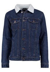 Urban Classics Denim Jacket Dark Blue Blue Denim