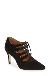 Corso Como Women's 'Cocktail' Lace Up Pump Black Suede