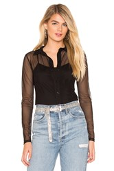 Amanda Uprichard Vance Blouse Black