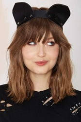 Nasty Gal Mary Rich Playtime Leather Headband