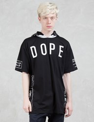 Dope Branded Hooded T Shirt