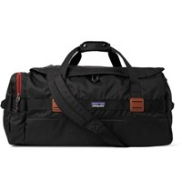Patagonia Arbor Leather Trimmed Shell Holdall Black