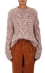 Ulla Johnson Women's Francisca Baby Alpaca Sweater Pink
