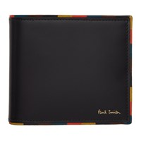 Paul Smith Black Striped Edge Wallet