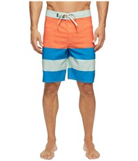 Vans Era Stretch Boardshorts 20 Cherry Tomato Imperial Blue Men's Swimwear Multi