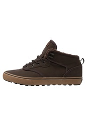 Globe Motley Mid Skater Shoes Brown