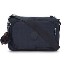 Kipling Reth Nylon Messenger Bag Dazz True Blue