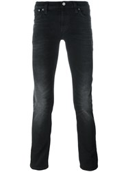 Nudie Jeans Co Stonewashed Skinny Black