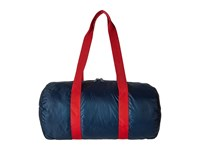 Herschel Packable Duffle Navy Red 1 Duffel Bags Gray