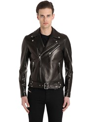 Christophe Terzian Elvis Perfecto Leather Biker Jacket