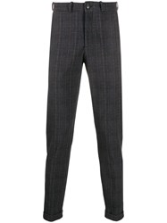 Rrd Tailored Check Pattern Trousers 60