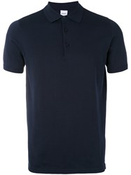 Aspesi Classic Polo Shirt Men Cotton 50 Blue
