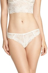 Chelsea 28 Women's Chelsea28 Lacy Days Thong Ivory Egret