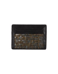 Dsquared2 Small Leather Goods Document Holders Men Black