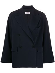 Alberto Biani Double Breasted Fitted Coat 60
