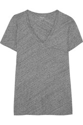 Madewell Slub Cotton Jersey T Shirt Gray