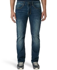 Buffalo David Bitton Six Slim Straight Fit Jeans Indigo