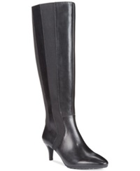 Tahari Fiore Tall Wide Calf Dress Boots Women's Shoes