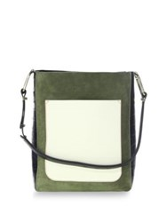 Jason Wu Detailed Leather Tote Chianti Olive