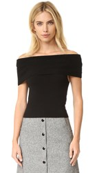 Alice Olivia Romi Sleeveless Sweater Black