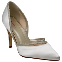 Rainbow Club Georgia Two Part Court Shoes Ivory