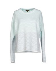 Le Mont St Michel Sweaters Light Green