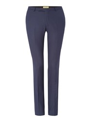 Noose And Monkey Men's Ellroy Skinny Suit Trouser Navy