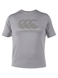 Canterbury Of New Zealand Essentials Crew Neck T Shirt Light Grey