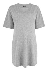 Topshop Maternity Boyfriend Tunic T Shirt Grey